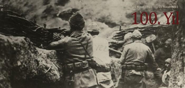 25 Nisan 1915 te son kurşunu ve kanının son damlasına kadar savunan gazi ve şehitlerimizi minnetle anıyoruz!